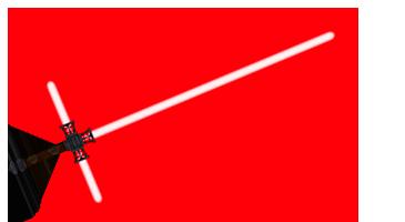Световые мечи в стиле Кайло Рена -